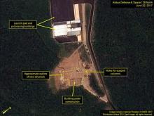 ロケットエンジン試験を確認=衛星写真に痕跡-米研究所