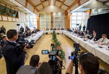 キプロス再統合交渉が再開=駐留トルコ軍扱い焦点-スイス