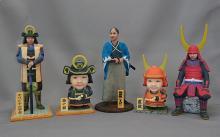 武漢、自分の顔写真を武将姿の3Dフィギュアで再現できる「俺武者」の受注生産を開始