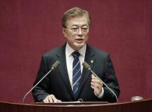 韓国外交再始動へ=文大統領、28日訪米-北朝鮮対応で立場の違いも