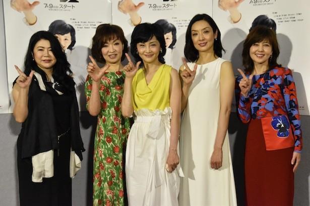 南果歩 News: 南果歩主演の新ドラマ、目指すはテレ朝で好調のあの作品