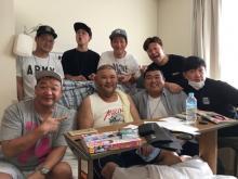 入院23日目の安田大サーカスHIRO 「少し痩せた」との報告