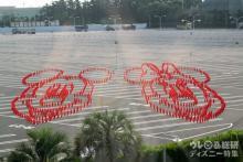 【ディズニー速報】ダイハツTDR駐車場のスポンサー就任記念 過去最大規模のコーンアートが登場! 便利な新サービスも