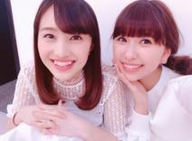 ももクロ玉井詩織、百田夏菜子の誕生日をお祝い「23歳でもアホは健在で」