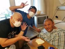 脳出血の安田大サーカス・HIROが退院 復帰については「我慢」
