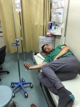 竹原慎二 胃痙攣で救急搬送、一夜明けだいぶ良くなったと報告
