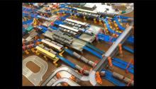 プラレールで横浜駅を再現「完成度高けーなおい!」