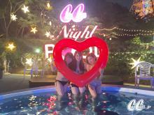 【Night Pool日誌】この夏フォトジェニックなナイトプール女子会が熱い!