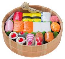 お寿司とおむつがコラボ! 出産祝いの新定番「おむつ寿司」誕生
