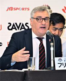 「日本のスタイルつくる」=ラマス新監督