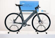 坂道に強い 前輪駆動の電動アシスト自転車「ElBike」