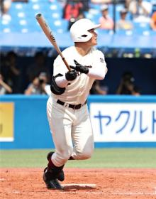 清宮、高校通算106号=高校野球