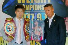 田中、9月に大阪で防衛戦=パランポンと対戦-WBO・Lフライ級