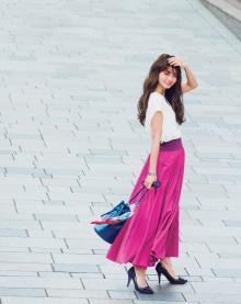 歩くたびに女度アップなマキシスカート♡スタイリスト丸林広奈の厳選アイテム
