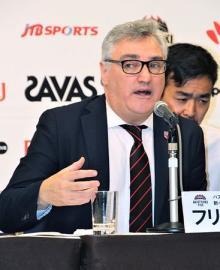 「日本のスタイルつくる」=バスケット男子日本代表のラマス新監督が会見