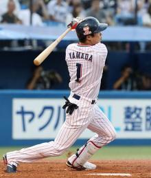 ヤクルト、連敗止める=プロ野球・ヤクルト-阪神