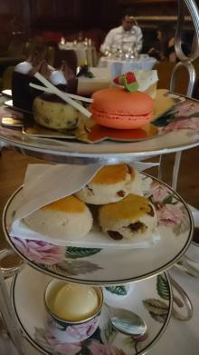 【子午線と紅茶の旅】2 アガサ・クリスティーの定宿でお茶を満喫
