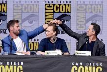 【コミコン2017】クリス・ヘムズワース、ソーのイメチェンは「飽きた」から!?