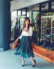 裾の動きがたまらなくキュートなアシメトリースカート!スタイリスト丸林広奈の厳選アイテム