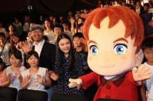 杉咲花&米林宏昌監督、夢見る子どもたちにエール!「メアリ」の似顔絵も披露