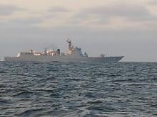 中ロ海軍、バルト海で初演習=NATOけん制か