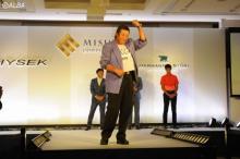 ジャンボ尾崎、ゴルファー専用腕時計に「久しぶりに心が躍ったよ」
