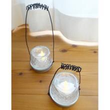 ガラスジャーが大活躍! 100均DIYで雰囲気のある「明かり」が簡単に作れる