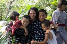 満島ひかりと子どもたちのやり取りが微笑ましい 『海辺の生と死』メイキング映像