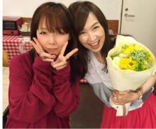 森口博子、歌手aikoと2ショット「衝撃を受けました。ヤバイです。」