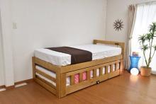 一人でも、急な来客時でも使えるベッド新発売! ~お部屋を広く使える「親子ベッド ツインズ」~