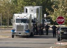 トレーラー内の9人死亡=人身売買か-米テキサス