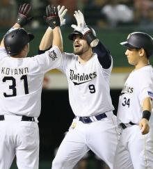 オリックス、連敗止める=プロ野球・オリックス-楽天