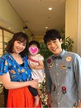 井上和香の娘、だいすけお兄さんに会ってとんでもなく号泣する