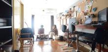 こだわり部屋FILE 【インテリア事例】DIY家具と木の温もりで作る クリエイティブ空間