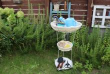 アイデア満載!女子DIYクリエイターリレー 庭の作業に役立つ! 可動式の「ガーデンラック」by fogliaさん