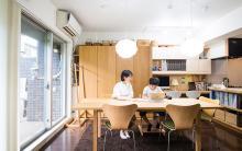 リビ充家族[4] 入居前リフォームとDIYで実現した、家族みんなが思い思いに過ごせる空間