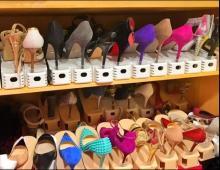 """<span class=""""hlword1"""">アンミカ</span> 150足の靴の収納方法は下駄箱の最大活用"""