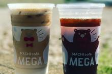 カップかわいすぎ!ローソンのメガアイスコーヒーが女の子たちに大人気♡