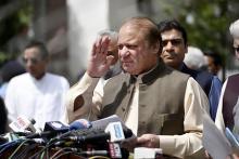 シャリフ首相が辞任=「パナマ文書」で議員資格無効-パキスタン