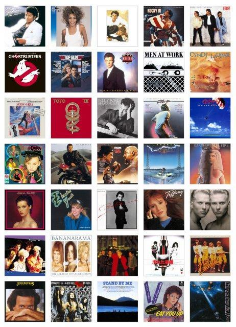 全曲週間オリコン1位80年代洋楽コンピ続編 前作とかぶり曲なし ...