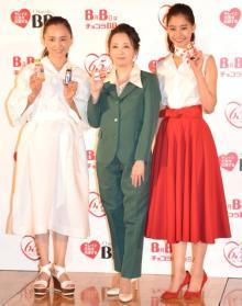 高橋由美子、21年前のCM衣装に照れ 意外な酒豪ぶり告白も