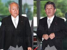 安倍改造内閣に早くもスキャンダル 茂木経済再生相の「公選法違反」と鈴木五輪相の「四輪問題」