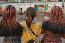 旅人マリーシャの世界一周紀行:第155回「ナミビアで一生お風呂に入らない美女の笑顔ゲット!」