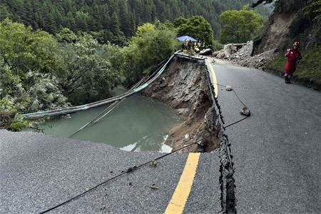 四川の地震、死者25人に=中国