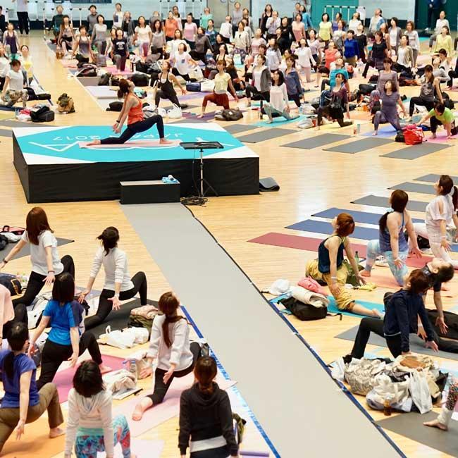 渋谷で日本最大級の室内型ヨガイベント「YOGA JAPAN 2017」開催