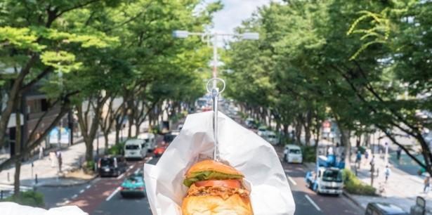 インスタに載せたくなる!可愛いのに、本格グルメなミニハンバーガー
