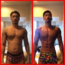 金子賢 2か月半で10.7kg減、キレッキレの身体に「差がすご過ぎ」の声