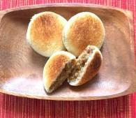 丸くて可愛い♪ レンチンでできるカレーパンで、注目のまとに!