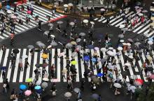 東日本で長雨、日照不足=都心40年ぶりの16日連続-偏西風影響・気象庁