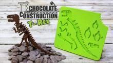 楽しくてカッコ良くておいしい! チョコレートのティラノサウルスを発掘しよう